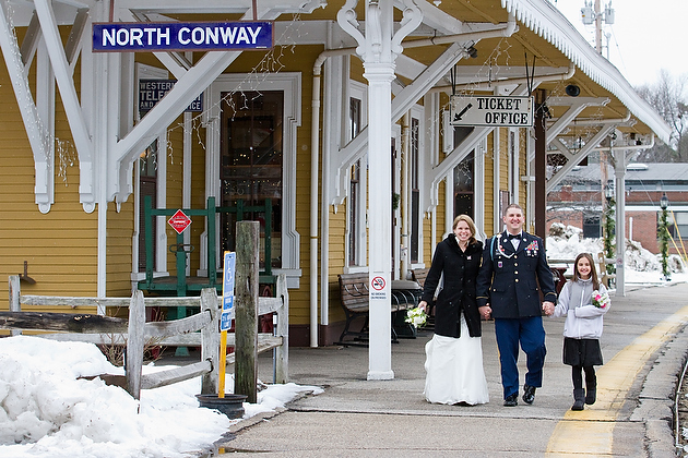 Winter Elopement in North Conway